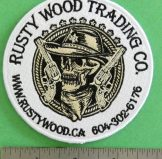 Rusty Wood Trading patches available NOW